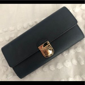 Michael Kors Navy Blue Wallet
